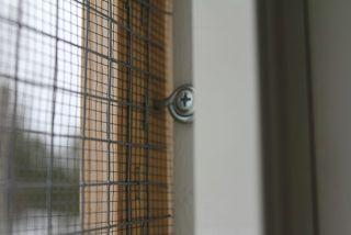 nät för fönster katt